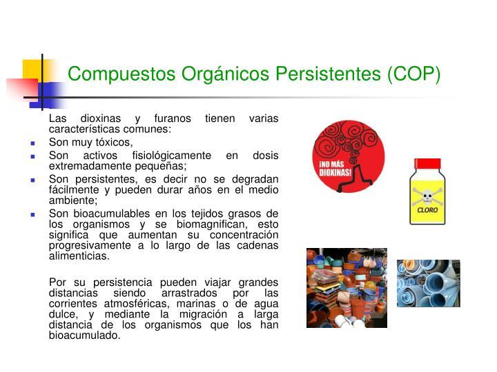 Compuestos Orgánicos Persistentes (COP)