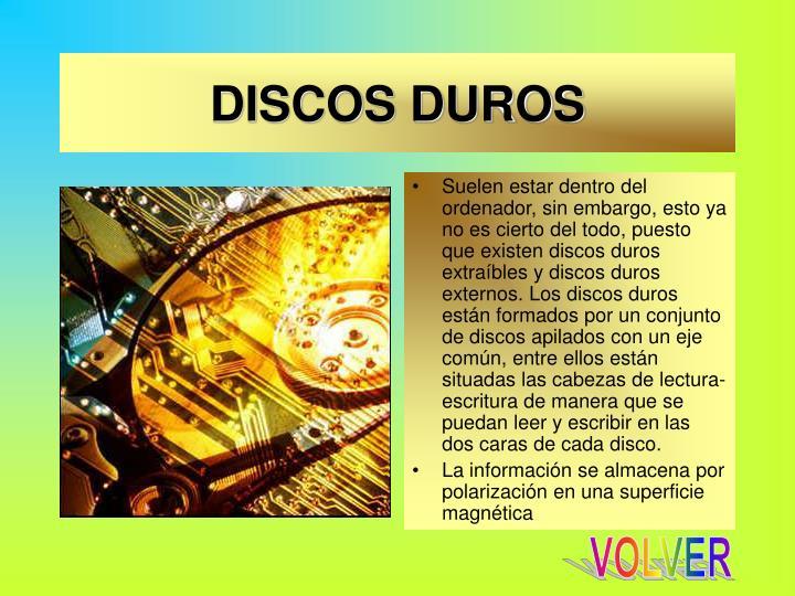 DISCOS DUROS
