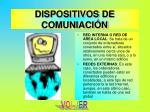 dispositivos de comuniaci n