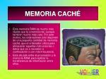 memoria cach