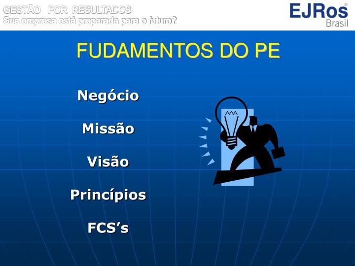 FUDAMENTOS DO PE