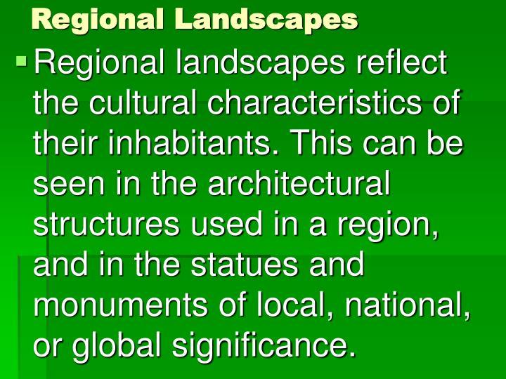 Regional Landscapes