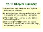 12 1 chapter summary