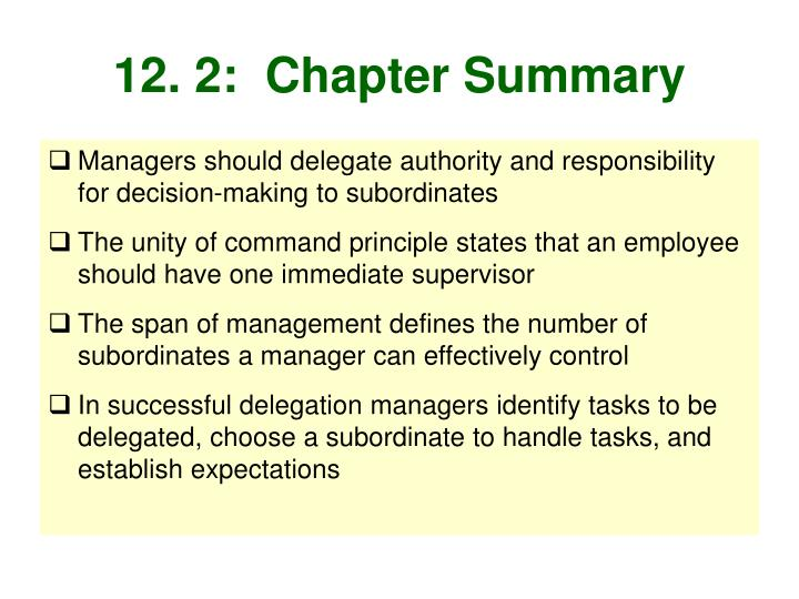 12. 2:  Chapter Summary
