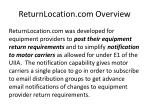 returnlocation com overview