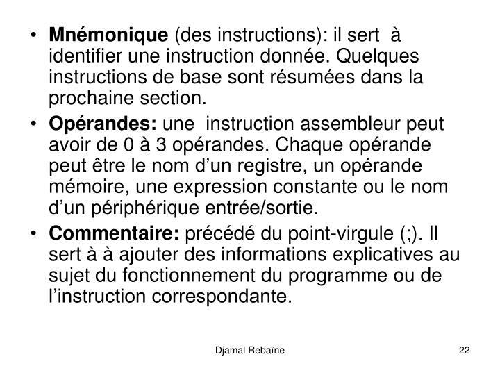 Mnmonique