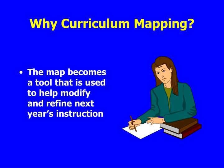 Why Curriculum Mapping?