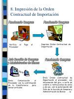 8 impresi n de la orden contractual de importaci n