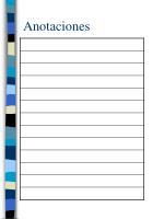 anotaciones