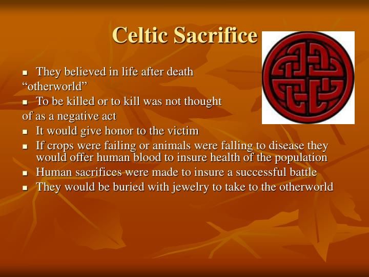 Celtic Sacrifice