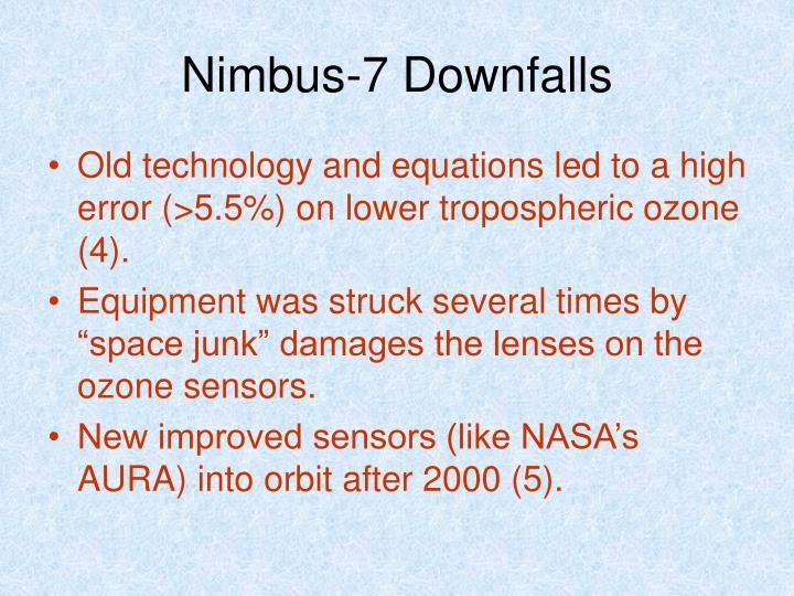 Nimbus-7 Downfalls