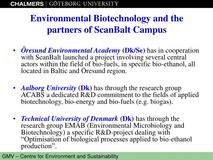Öresund Environmental Academy