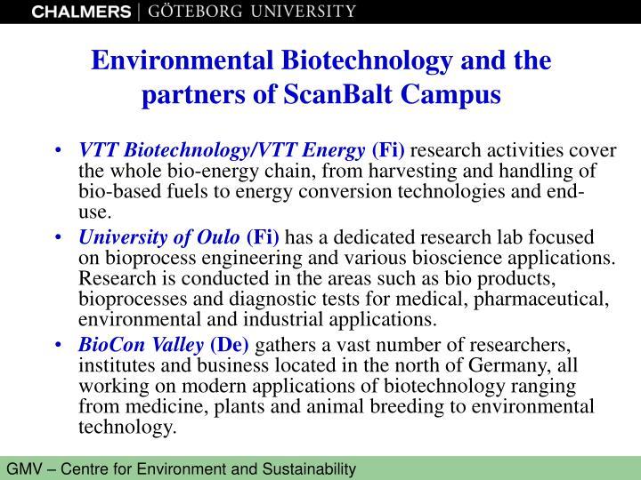 VTT Biotechnology/VTT Energy