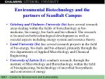 environmental biotechnology and the partners of scanbalt campus3