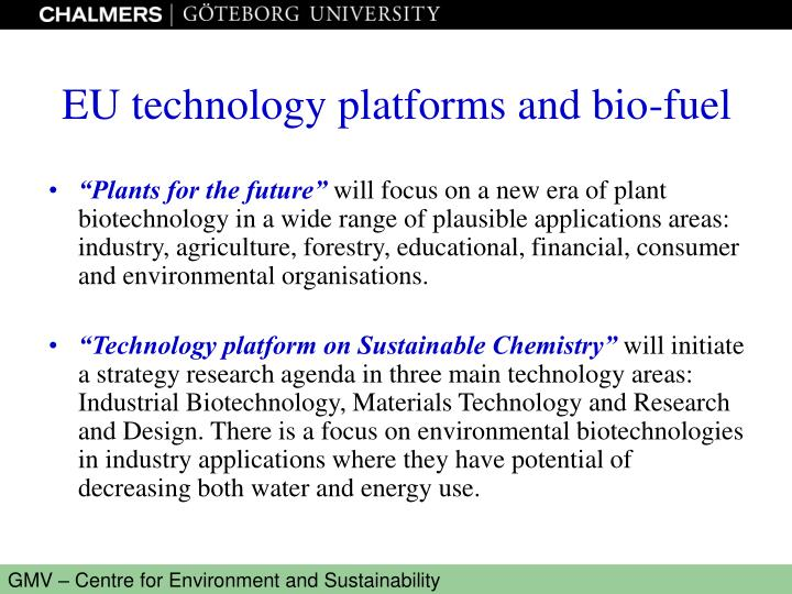 """""""Plants for the future"""""""