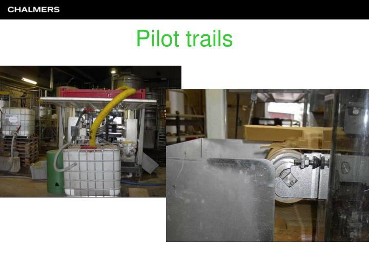 Pilot trails