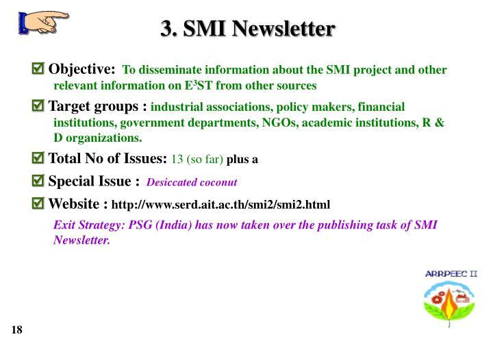 3. SMI Newsletter