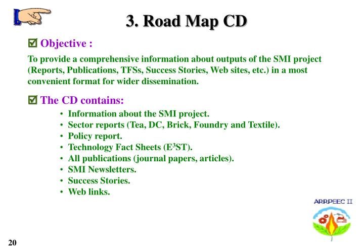 3. Road Map CD