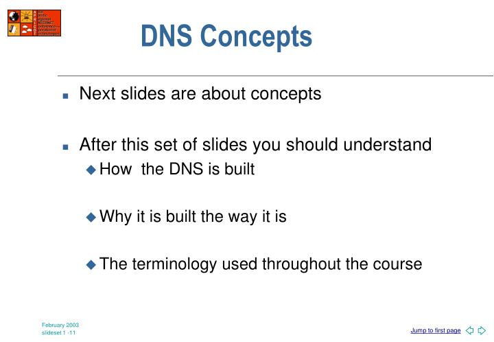 DNS Concepts