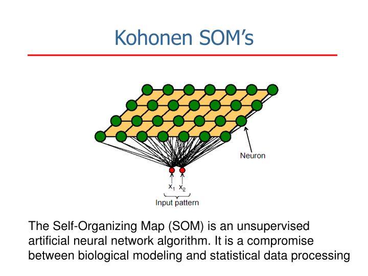 Kohonen SOM's