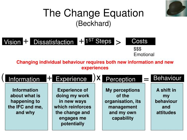 The Change Equation
