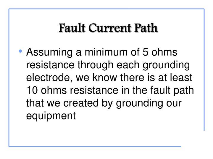 Fault Current Path