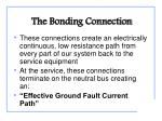 the bonding connection2