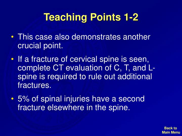 Teaching Points 1-2