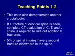teaching points 1 2