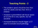 teaching points 2
