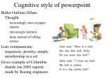 cognitive style of powerpoint3