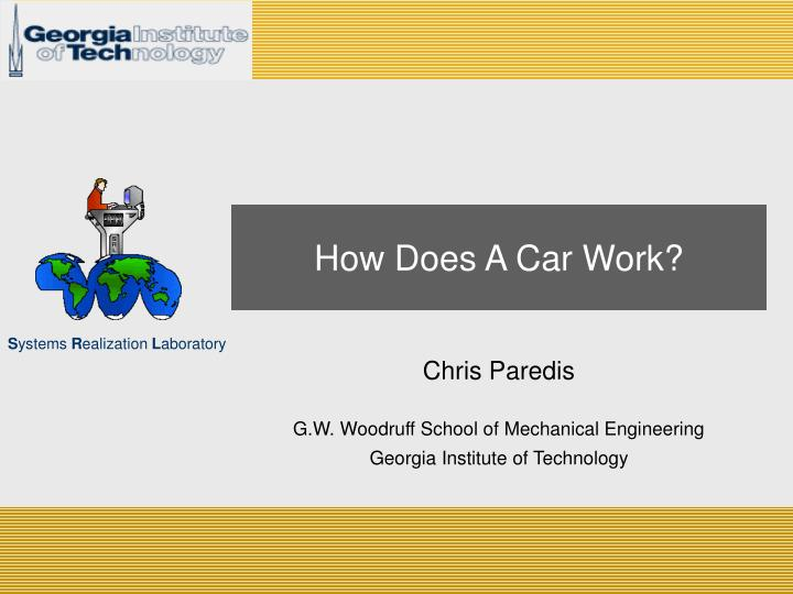 how does a car work