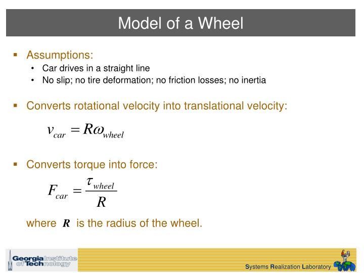 Model of a Wheel