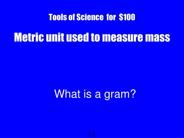 Tools of Science  for  $100