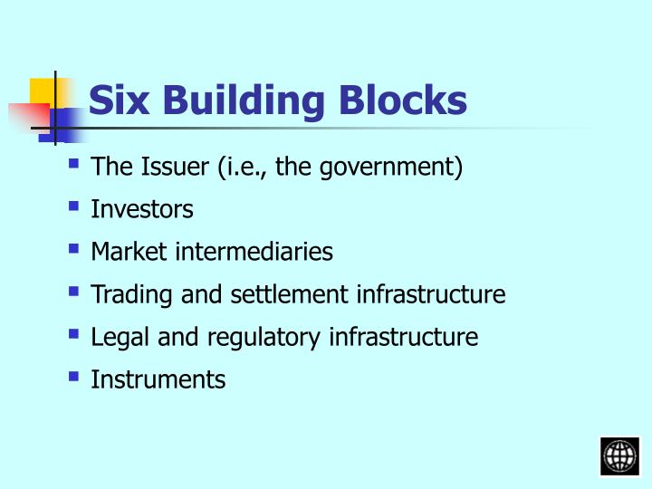 Six Building Blocks