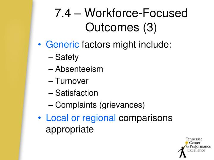 7.4 – Workforce-Focused Outcomes (3)