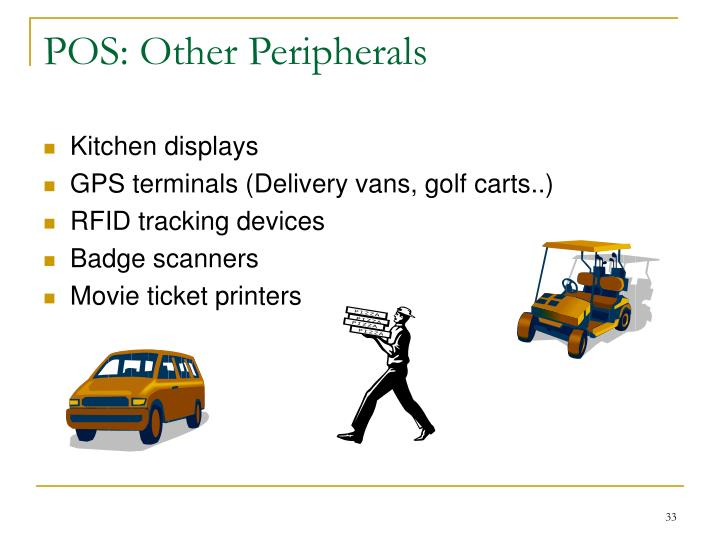 POS: Other Peripherals