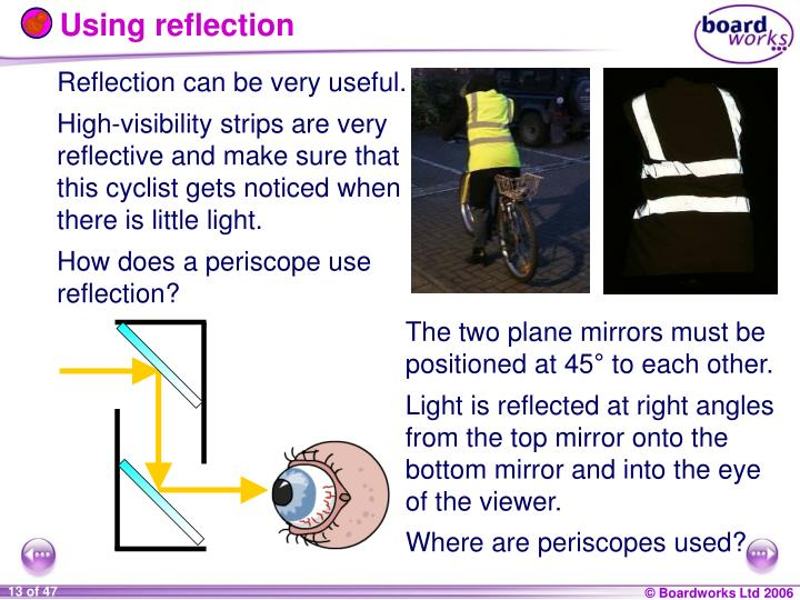 Using reflection