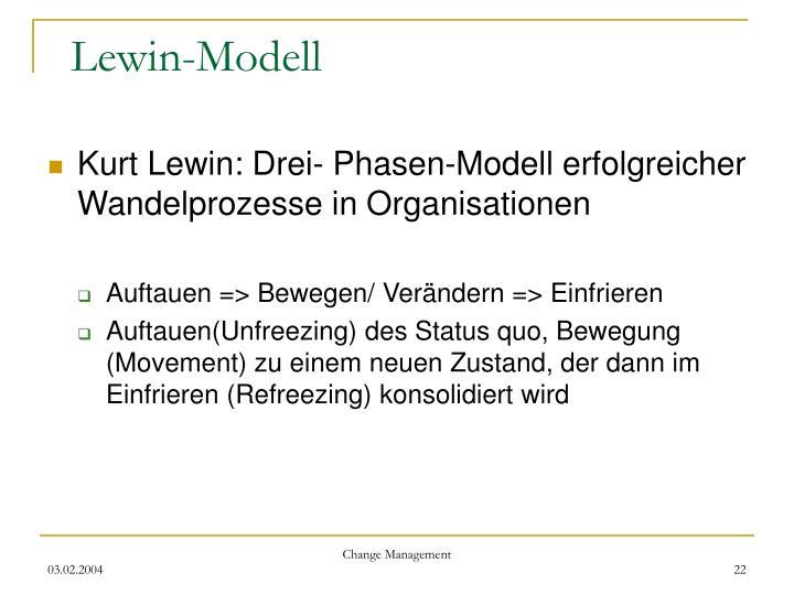 Lewin-Modell