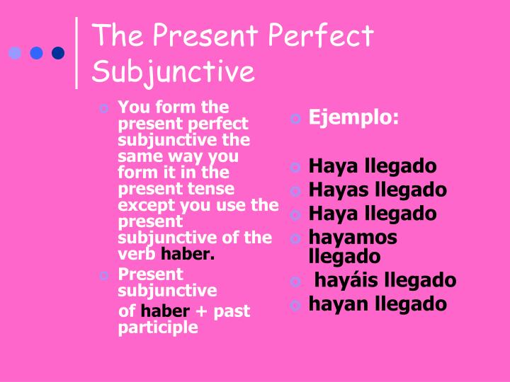 You form the present perfect subjunctive the same way you form it in the present tense except you use the present subjunctive of the verb