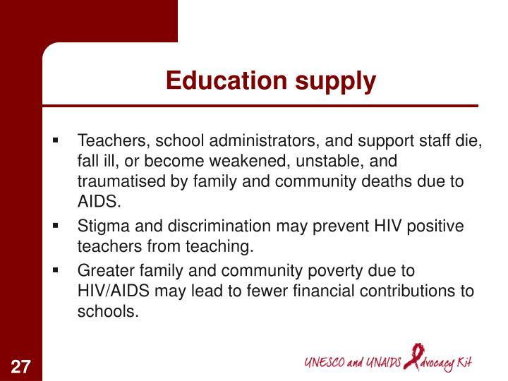 Education supply