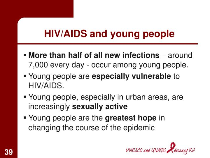 HIV/AIDS and young people