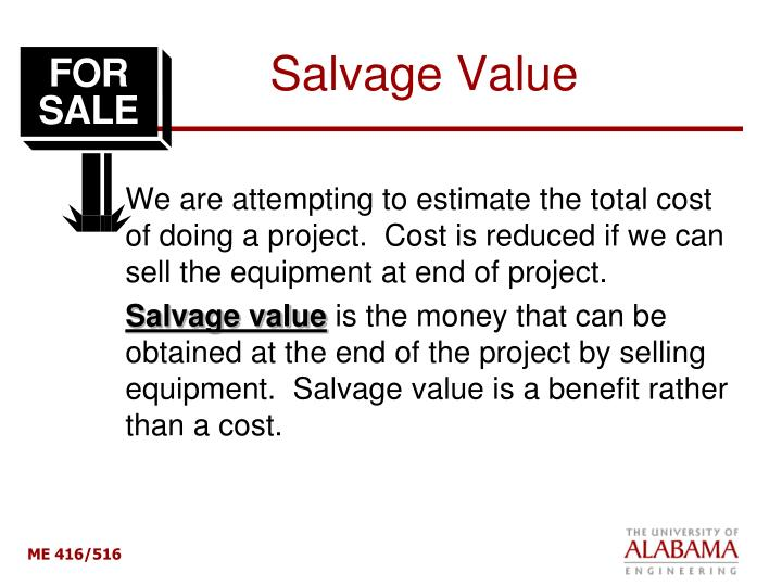 Salvage Value