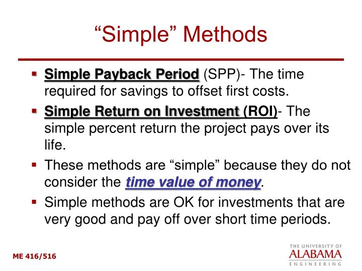 """Simple"" Methods"