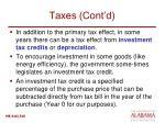 taxes cont d1