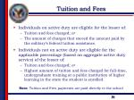 tuition and fees1