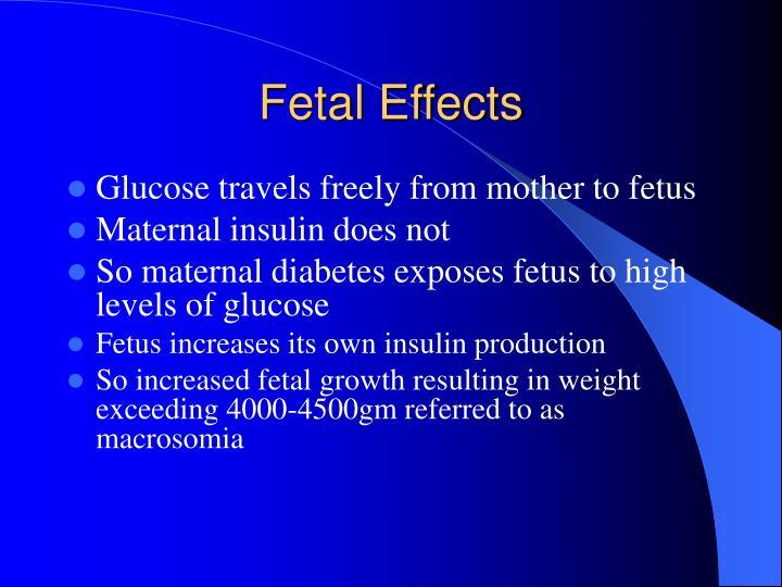 Fetal Effects