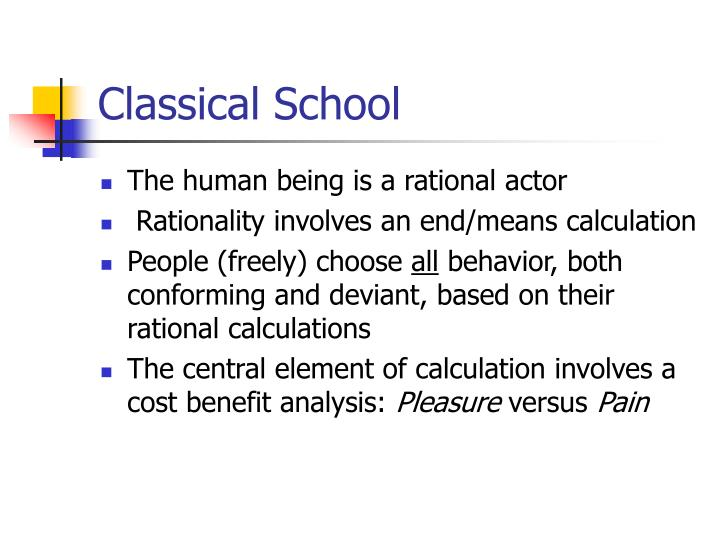 Rational Choice Theory Essays (Examples)