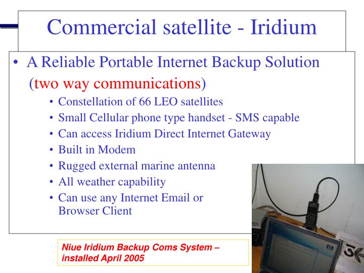 A Reliable Portable Internet Backup Solution