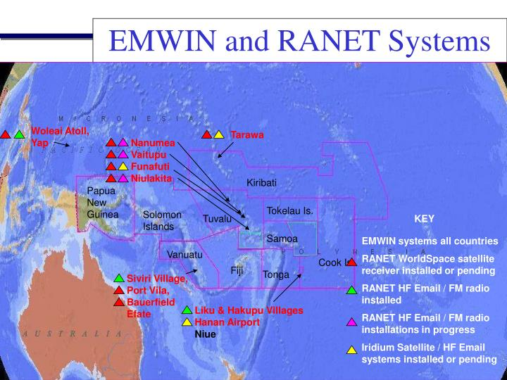 EMWIN and RANET Systems